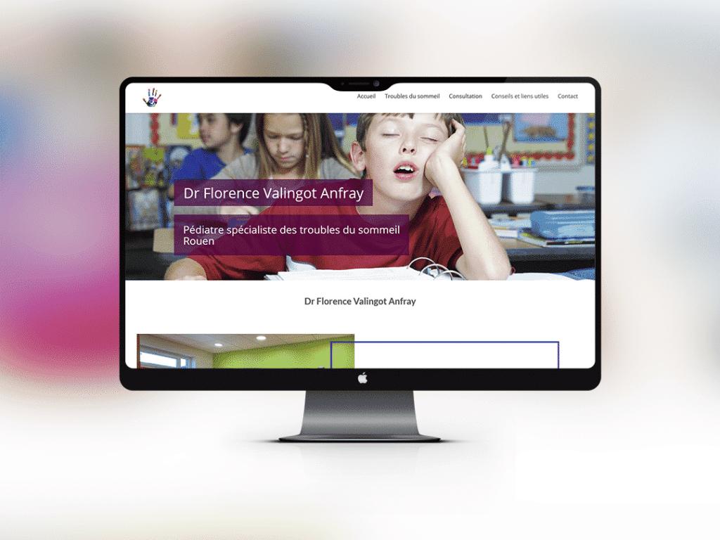 site-web-medecin-pediatre-rouen